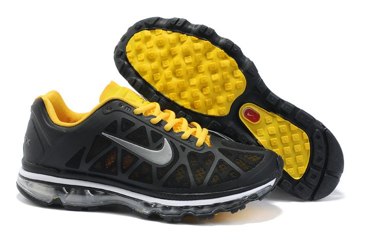 3d40fea6573c  46.98 Fake Mens Nike Air Max 2011 Black White Varsity Maize Sneakers