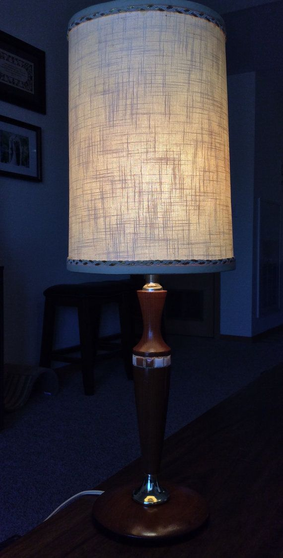 Mid-Century Table Lamp by alwaysalyson on Etsy