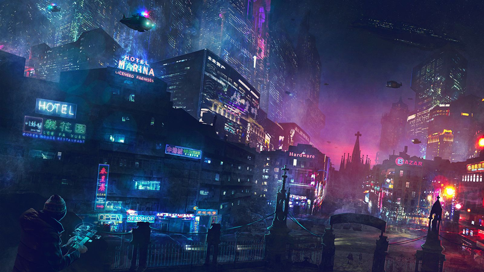 Cyberpunk Wallpapers Reddit 10 Cyberpunk City Futuristic City