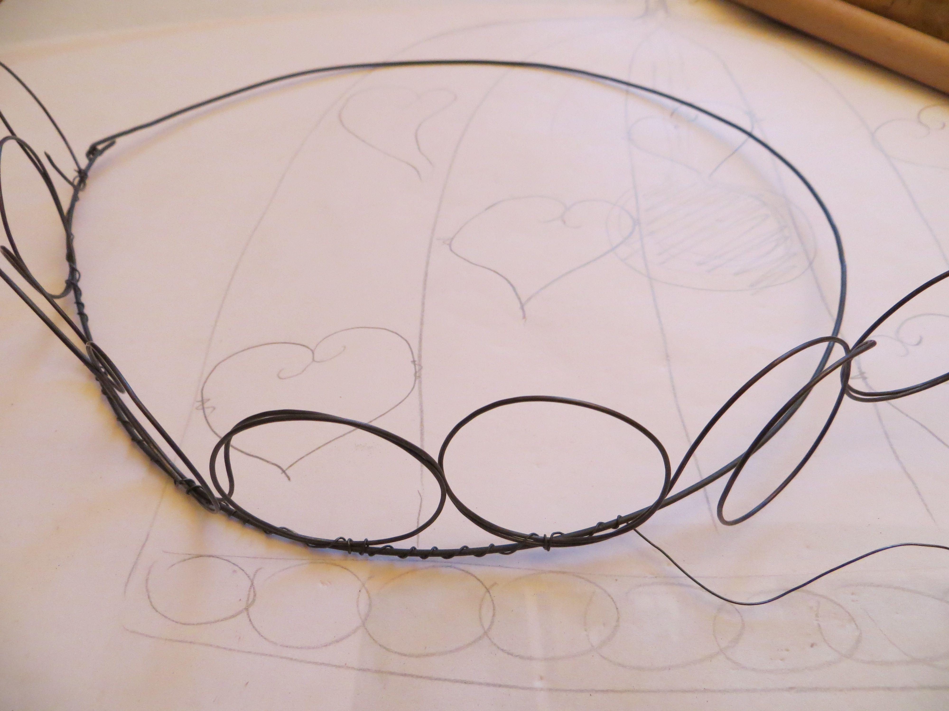 Fabriquer Carcasse Abat Jour fabriquer un abat jour en fil de fer | fabriquer un abat