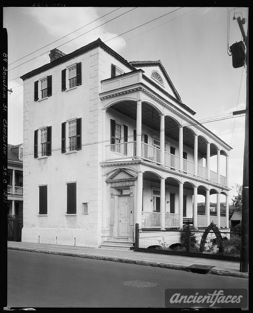 Gardner House, 89 Beaufain St., Charleston, Charleston