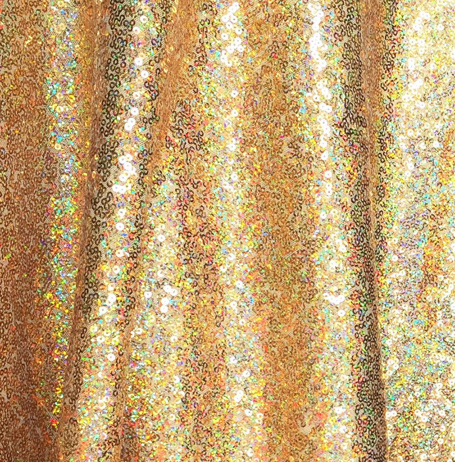 Sequin Fabric Material 3mm 1 Way Stretch Sparking Black Sequins 130cm Wide