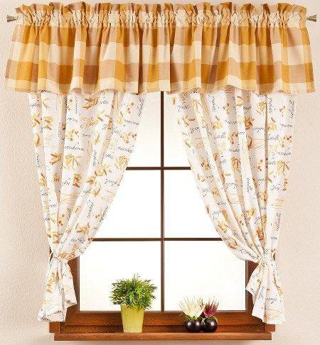 cute-kitchen-curtains-ideas-5 | cortinas | Pinterest | Cortinas ...