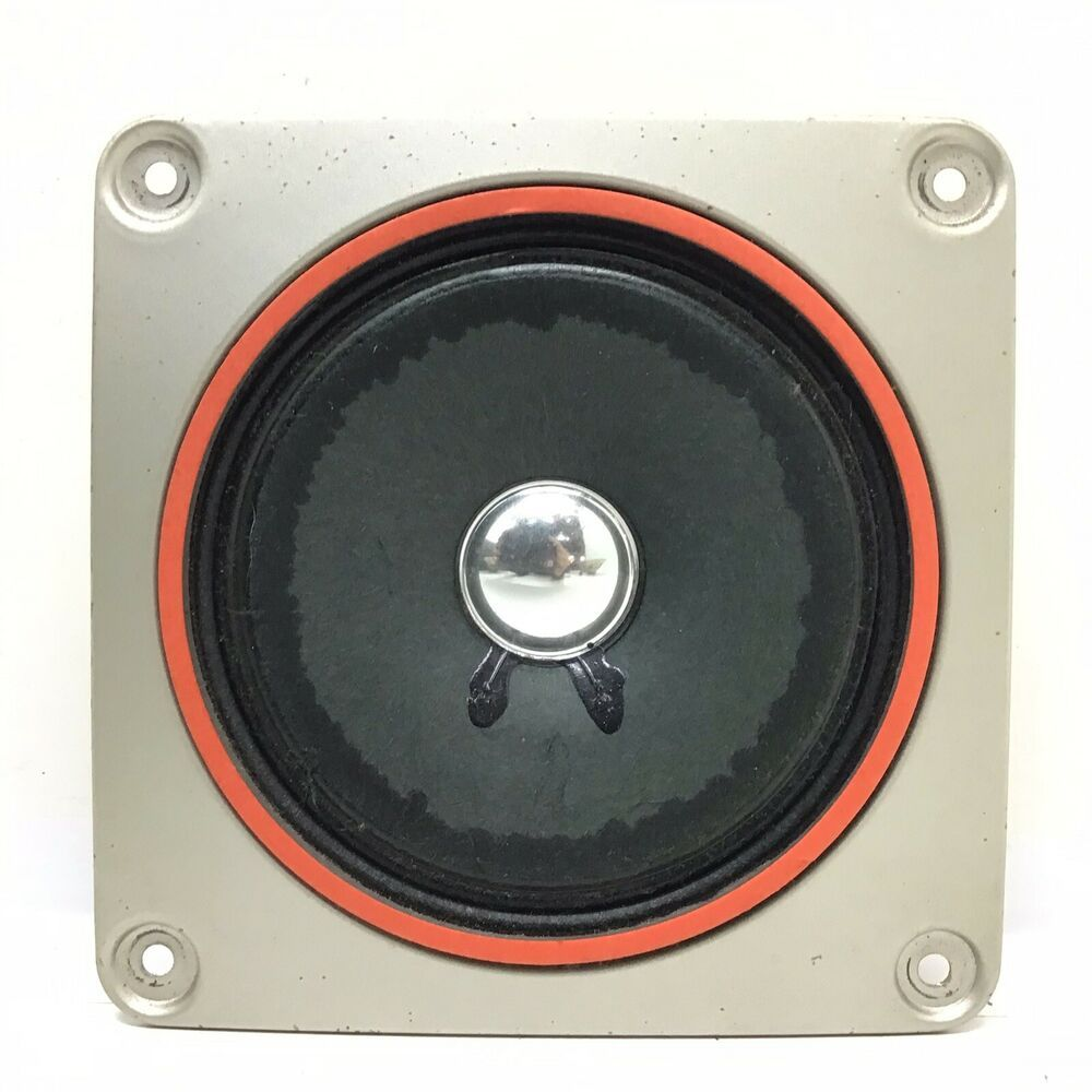 "Details About Working Fisher 4"" Inch 8 Ohm Mid Range"
