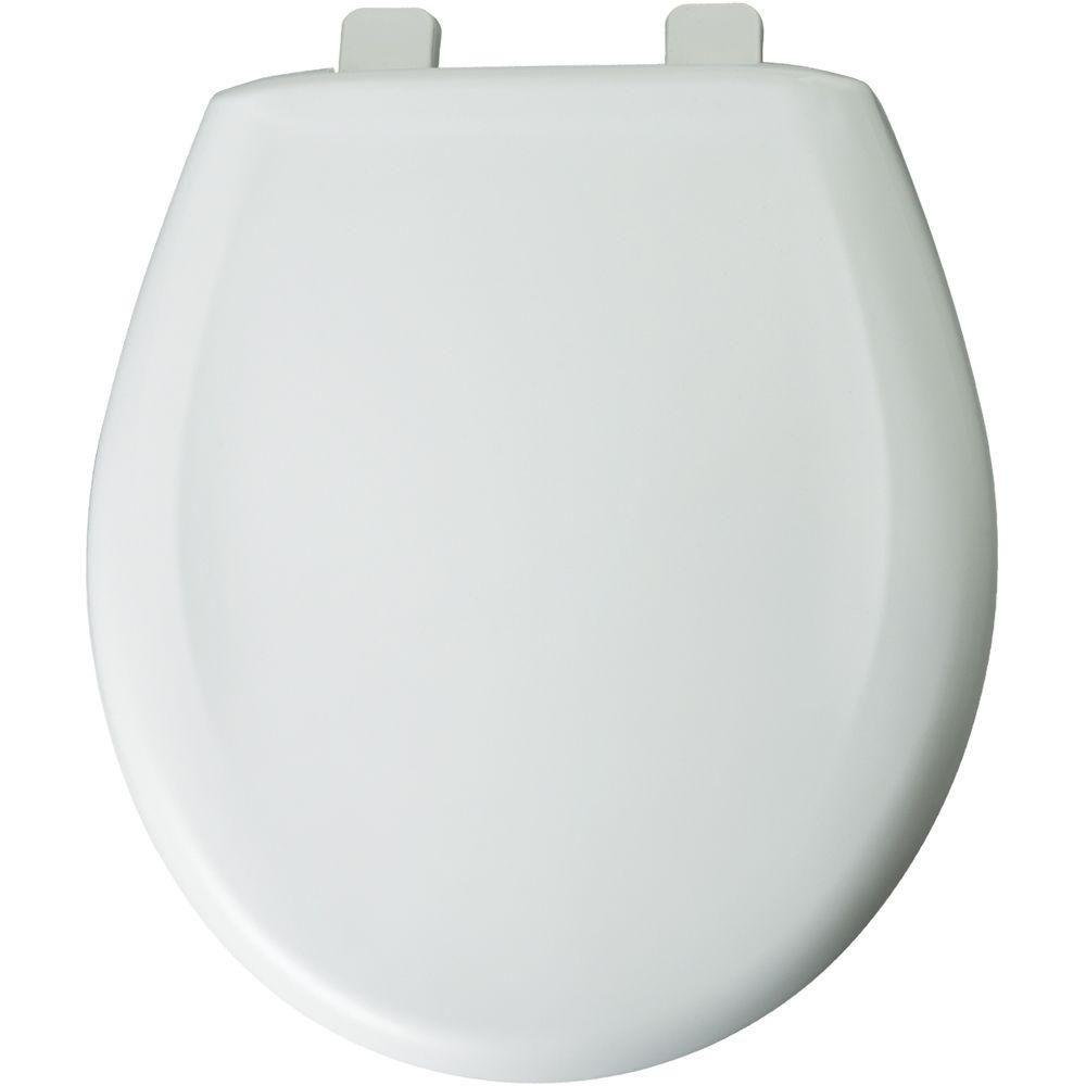 Church Round Closed Front Toilet Seat In White 300tca 000 Toilet Seat Bemis