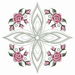 Pearl Roses Quilt 11 - 3 Sizes!   Quilt   Machine Embroidery Designs   SWAKembroidery.com Ace Points Embroidery