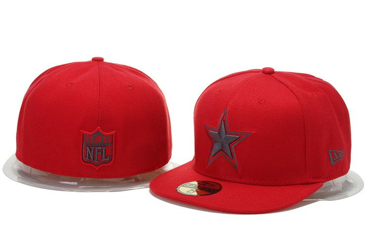 cheap for discount 46e95 494a5 Dallas Cowboys NFL New Era Fitted Hat Red 001