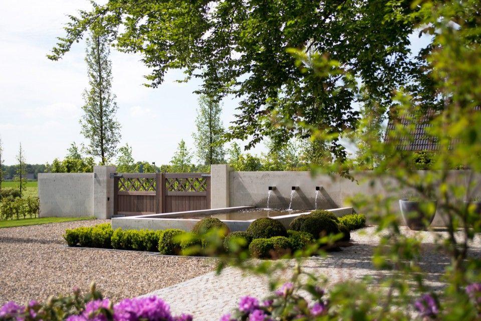 Siebers tuinprojecten landelijk chique moderne voortuin