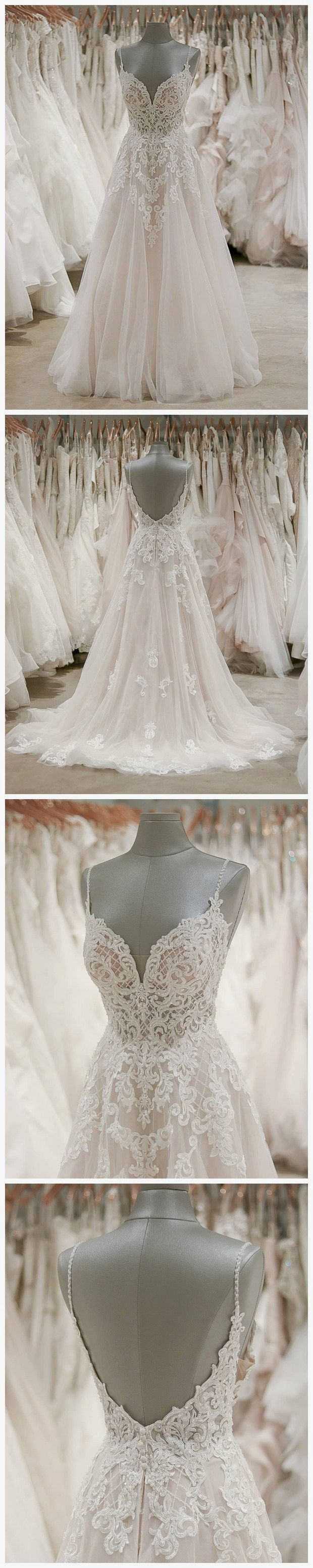 Elegant wedding dress. Forget about the soon-to-be husband, for