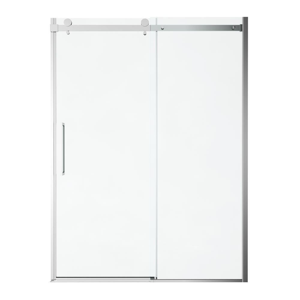 American Standard Passage 60 in. x 72 in. Frameless Sliding Shower Door in Clear Glass-AM801703400.213 #framelessslidingshowerdoors