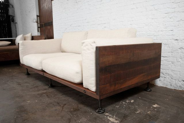 Bon Modern Wood Sofa Extraordinary 11 Couch Decorating 410525 Other Ideas Design