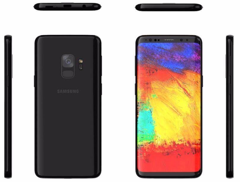 Samsung Galaxy S9 Und Galaxy S9 Neues Release Datum Aufgetaucht Samsung Stereo Lautsprecher Und Smartphone