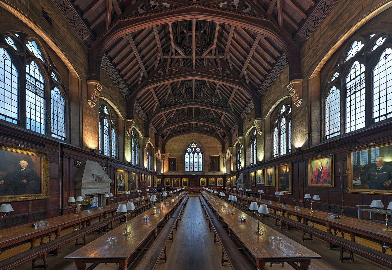Balliol College Dining Hall Oxford