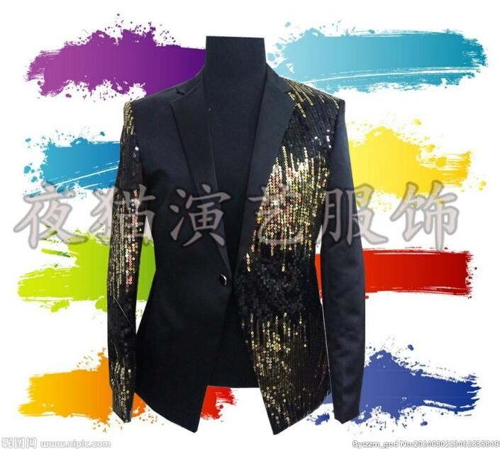 men suits designs masculino homme terno stage costumes for singers men  sequin blazer dance clothes jacket 24f6fb63ef83