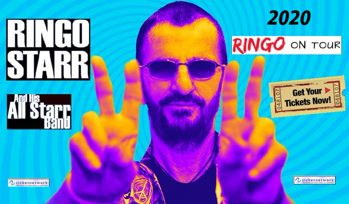 Ringo tickets are on sale now!Do not miss the opportunity ...