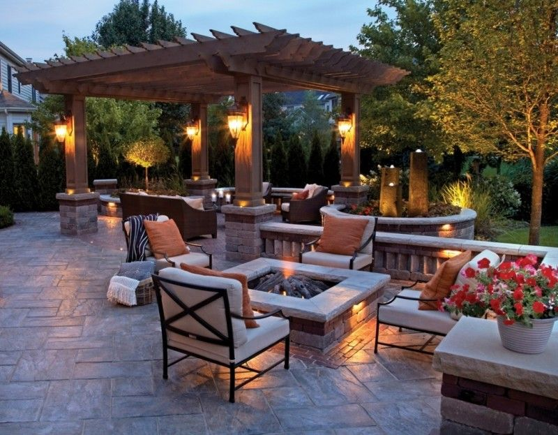 Outdoor Patio Entertainment Ideas Iwehaf With Images Backyard Patio Designs Backyard Fire Outdoor Fire Pit Designs