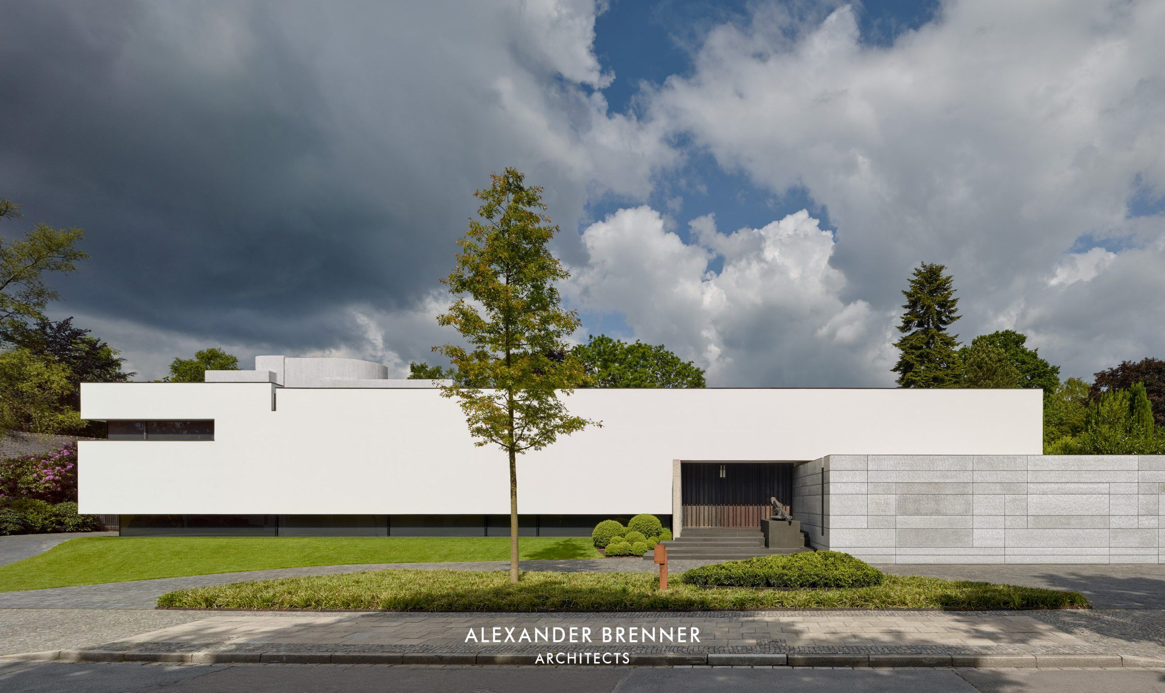 Post Bredeney bredeney house brenner architects architecture