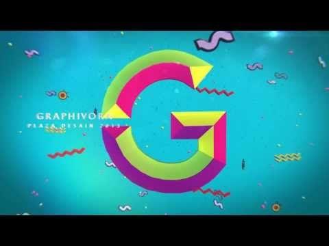 Plaza Desain 2013 Graphivora : Bumper Video on Behance