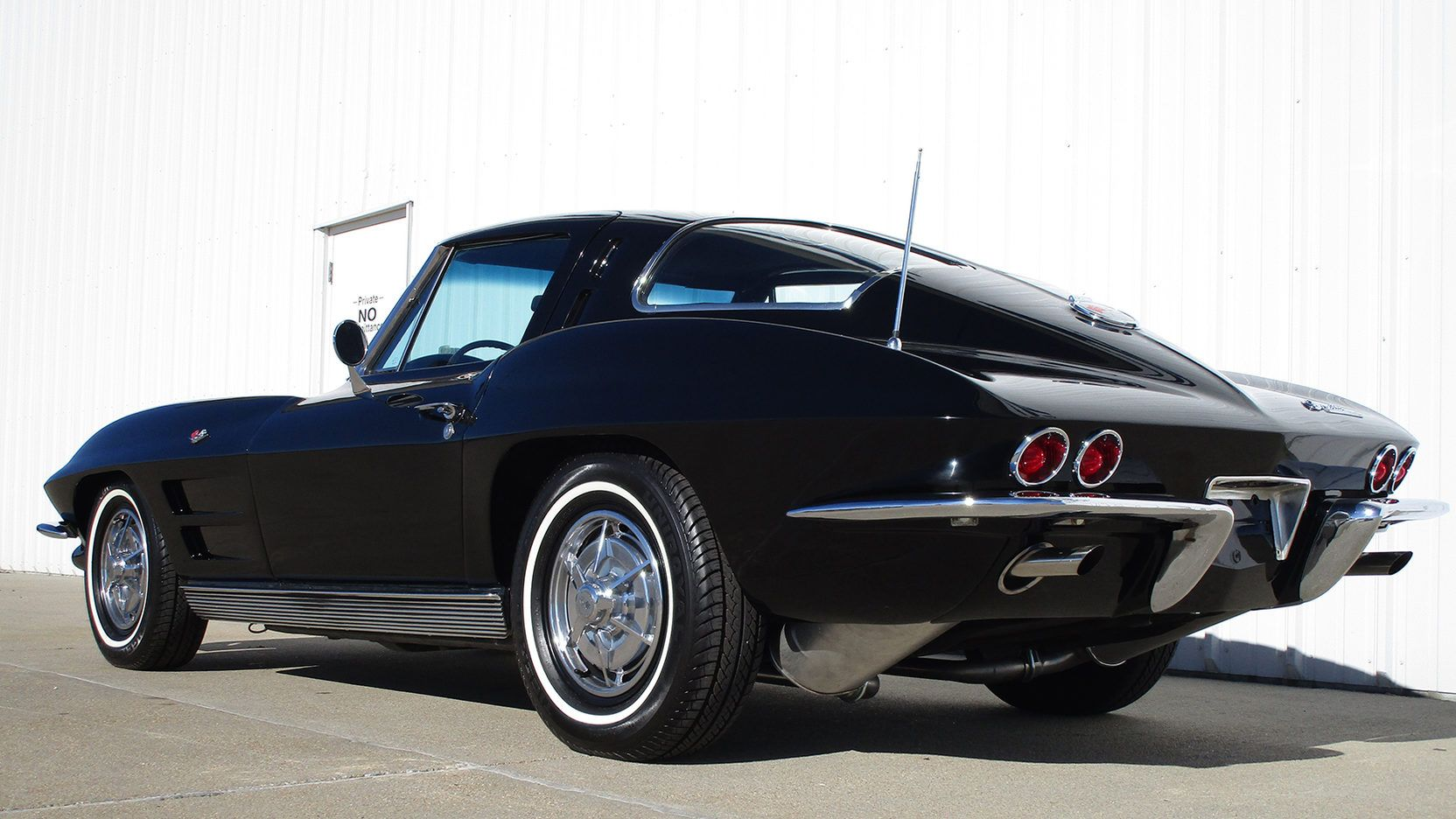 1963 Chevrolet Corvette Split Window Coupe 3 Print