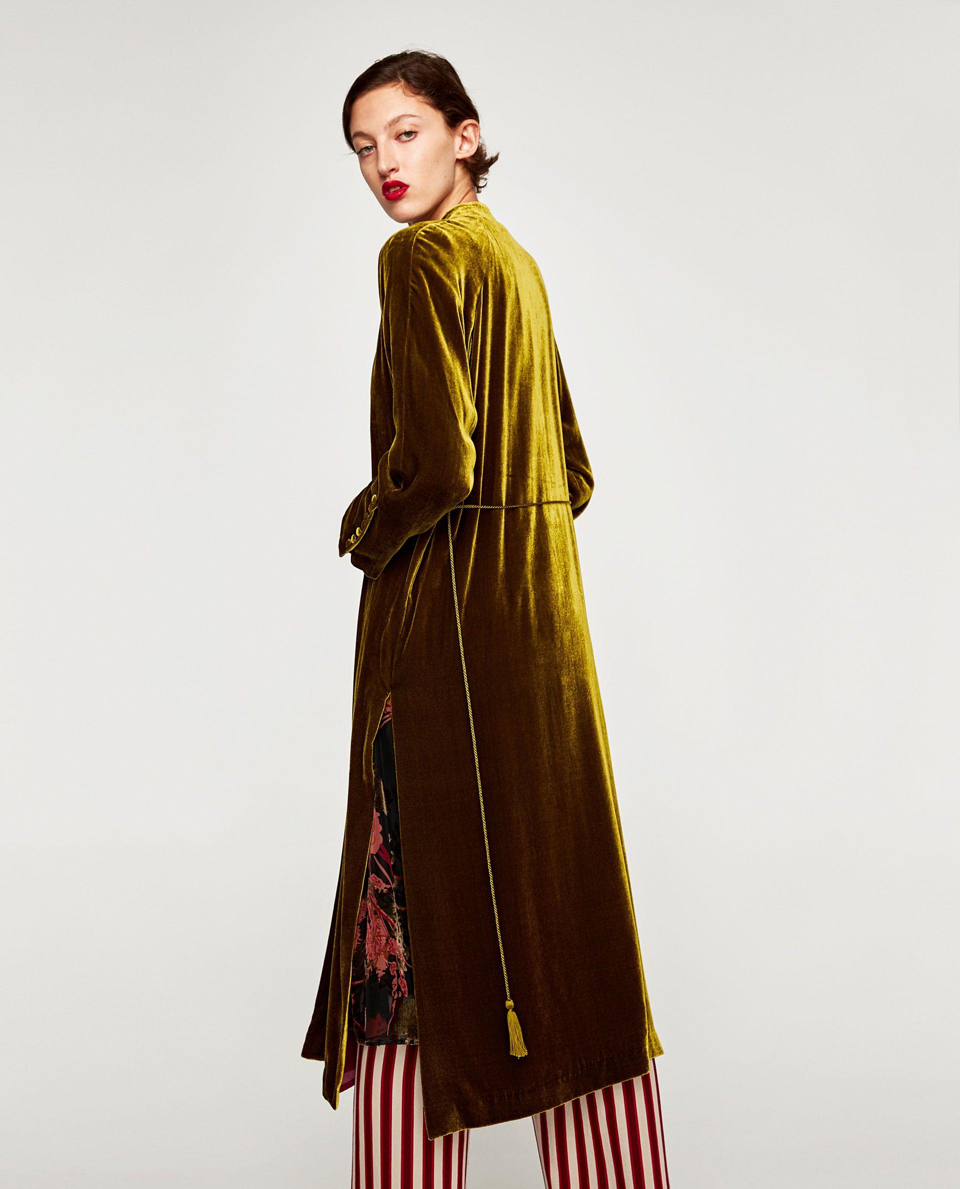 Park Art My WordPress Blog_Green Velvet Dress Long Sleeve Zara