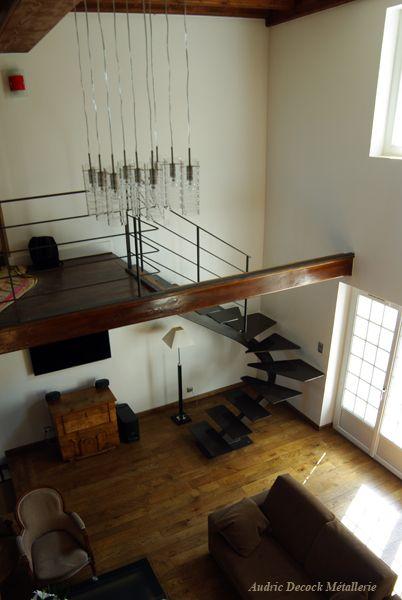 Audric Decock Escalier Contemporain Escalier Contemporain Escalier Escalier Metallique
