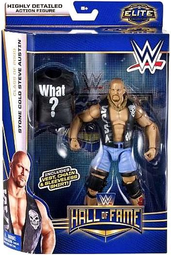 WWE Elite Collection Hall of Fame Exclusive Figure Stone Cold Steve Austin WWF