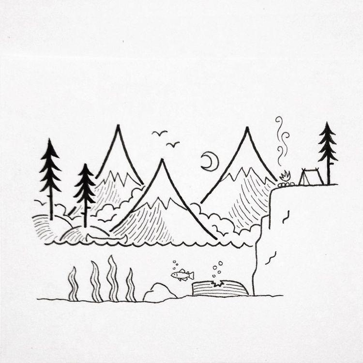 pinterest: joslynsampognaro   Art drawings simple, Doodle ...