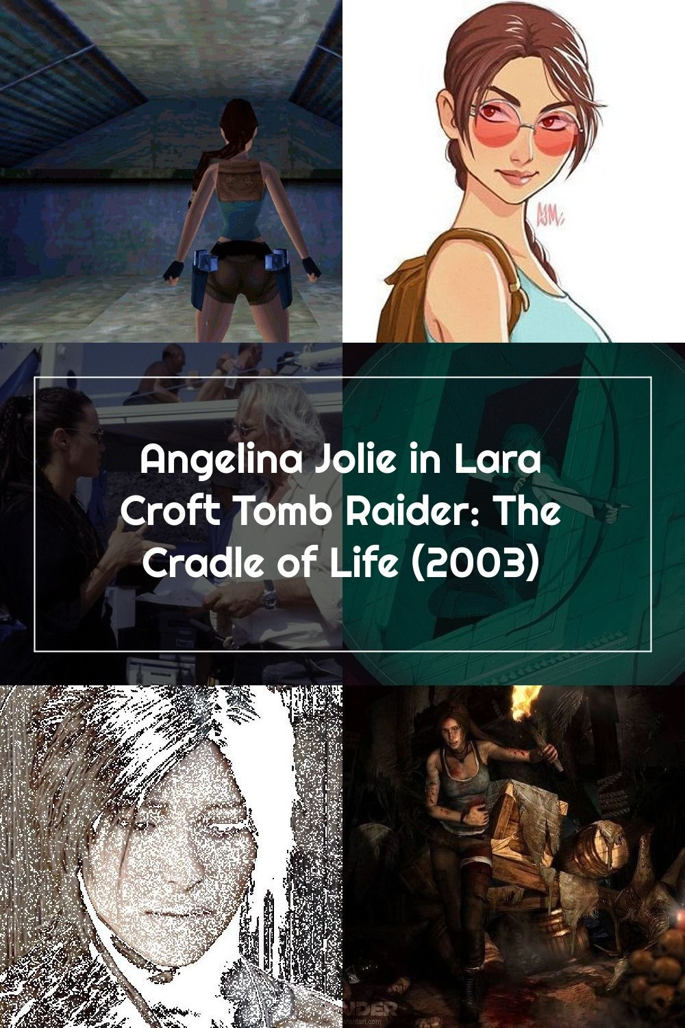 Angelina Jolie In Lara Croft Tomb Raider The Cradle Of Life 2003 In 2020 Lara Croft Tomb Lara Croft Tomb Raider