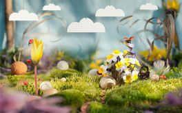 Fantasía de primavera Wallpaper
