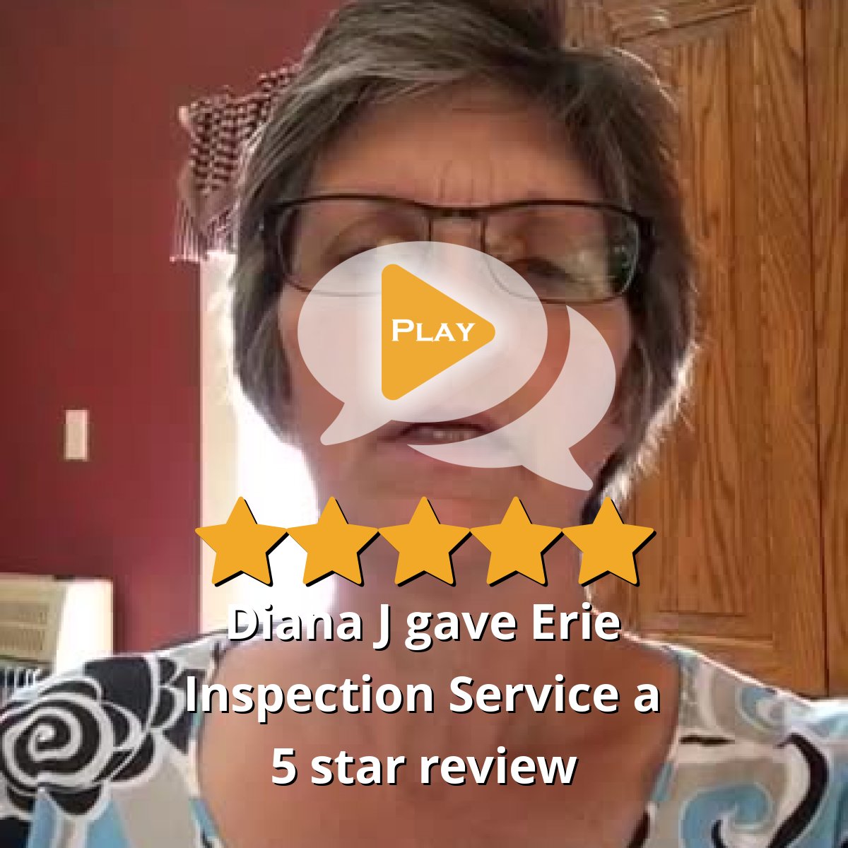 Diana J gave Erie Inspection Service a 5 star review