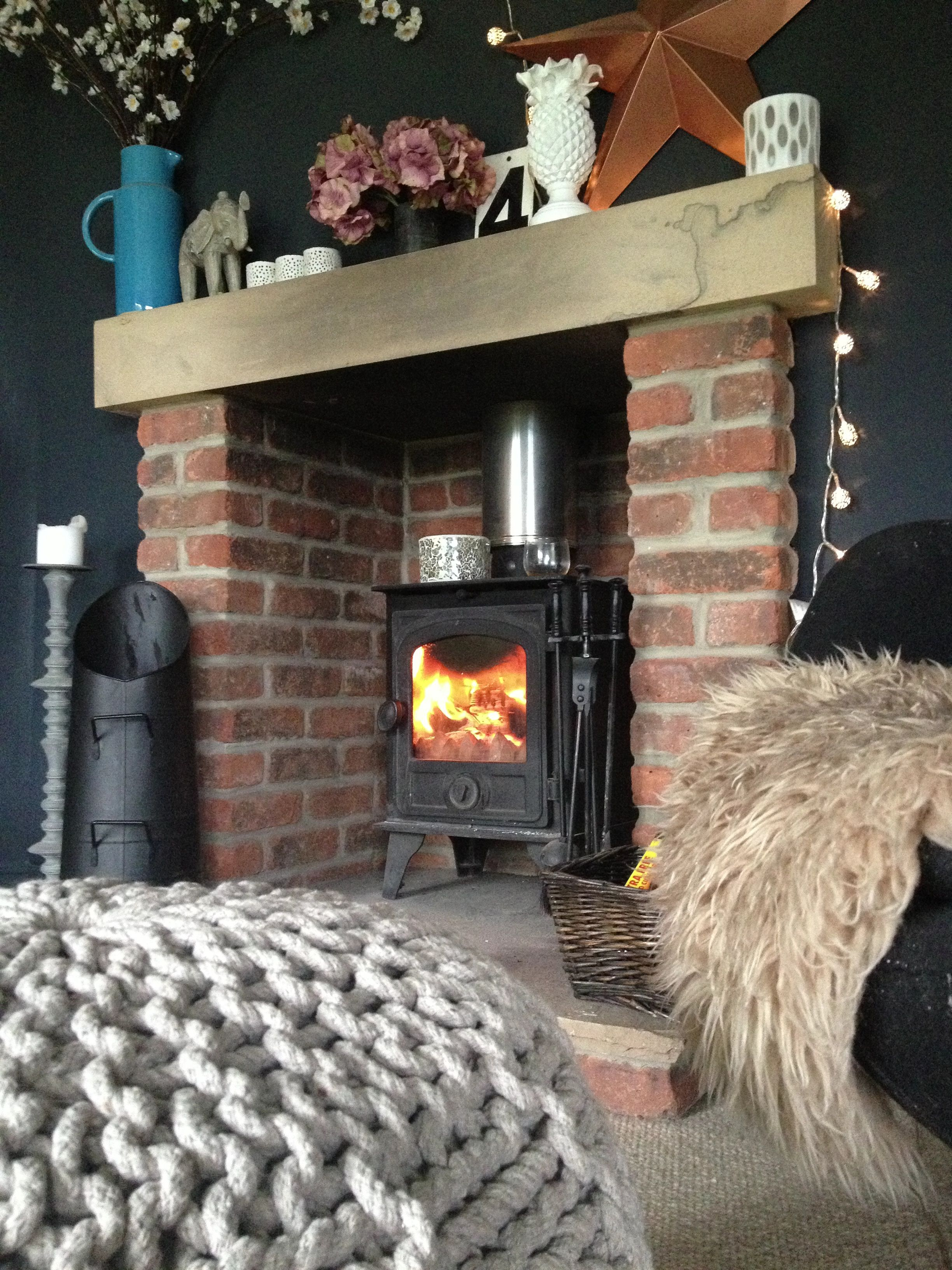 Brick stoves for summer cottages - warm and cozy