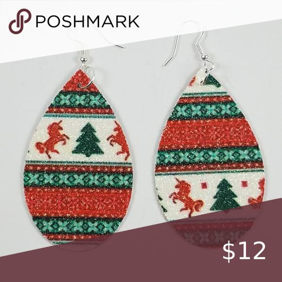 48+ Christmas tree leather earrings ideas in 2021