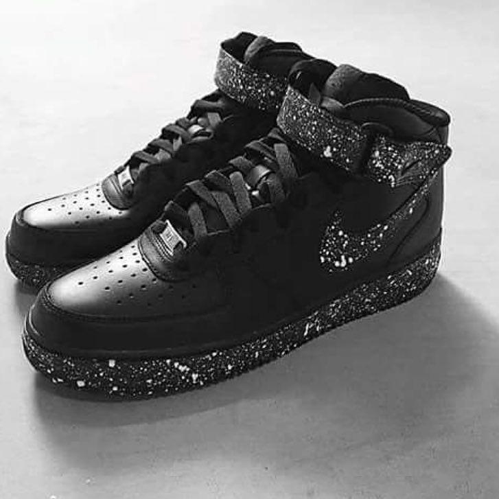 innovative design e7c6d dd370 Nike AirForce 1 Oreo!!! turnup turnyourswagon nike af1 sneakerhead  lifestyle fashion FamiliaSwagBrasil by swagbr