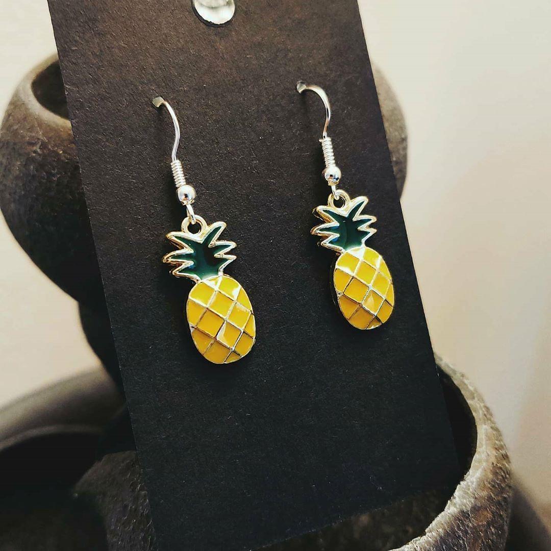 Pineapple Earrings Link In Bio Pineapple Pina Pinacolada Summer Etsy Etsysellersofinstagram Etsyshop Earrings Je In 2020 Pineapple Earrings Earrings Etsy