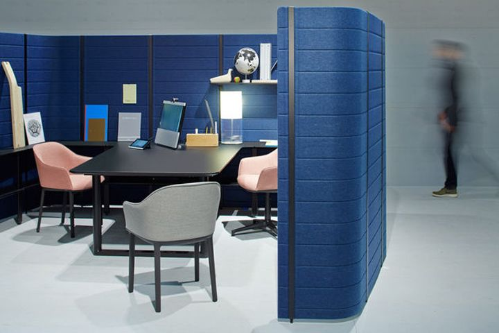 The Workbay Office By Ronan Erwan Bouroullec For Vitra Office