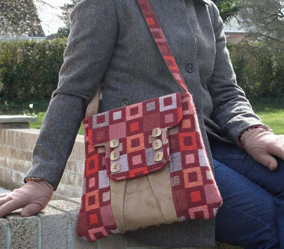 Sewing pattern to make the Polstead Heath Messenger Bag - PDF ...