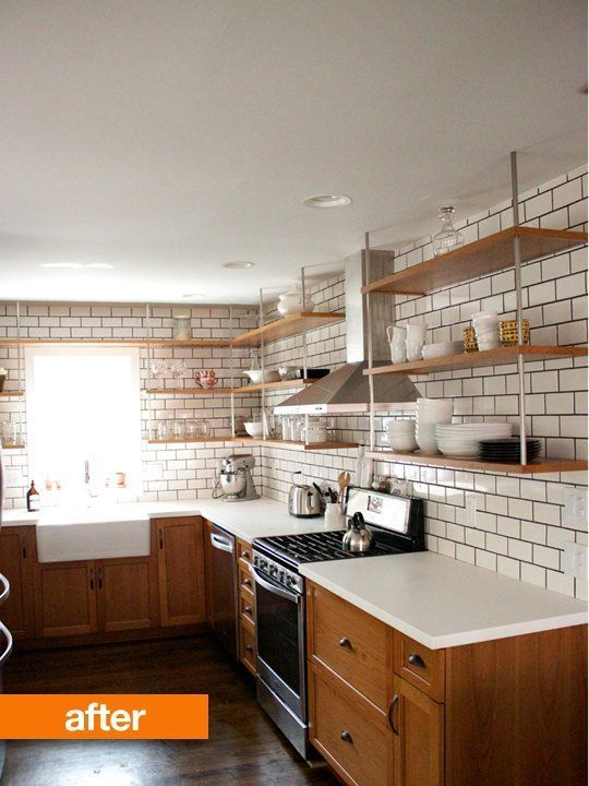 Before & After: A 1942 Kitchen Gets a Chic Modern Makeover | Ideas ...