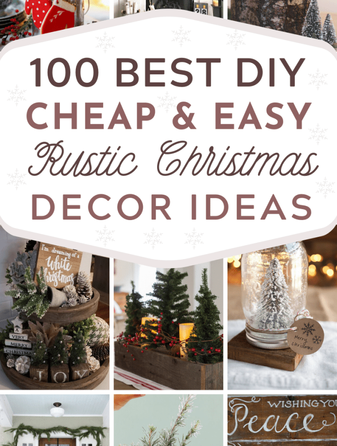 Affordable Diy Rustic Christmas Decorations Ideas