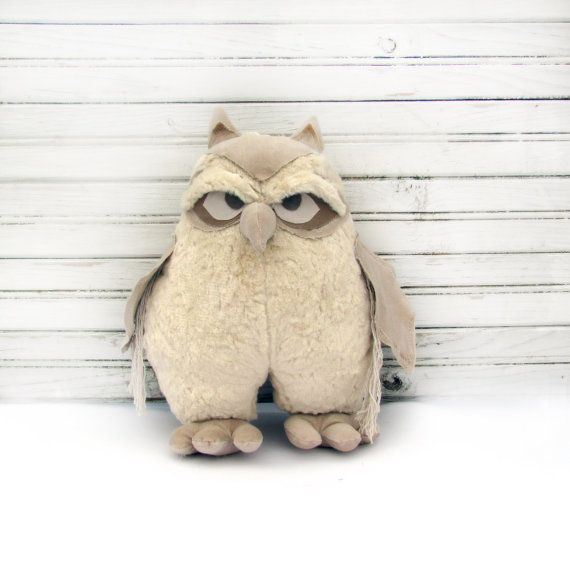 Owlowl Decor Handmade Owl Home Ornament By Annadesigner