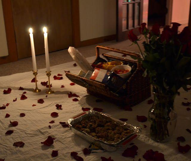 Indoor Picnic Anniversary Idea Indoor Picnic Valentine Bedroom Decor Romantic Bedroom Decor