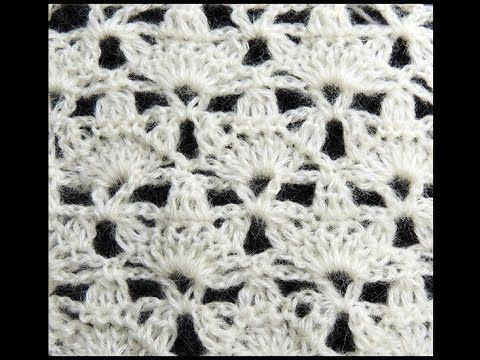Crochet : Punto Fantasia # 15, Recto - YouTube | crochet | Pinterest ...