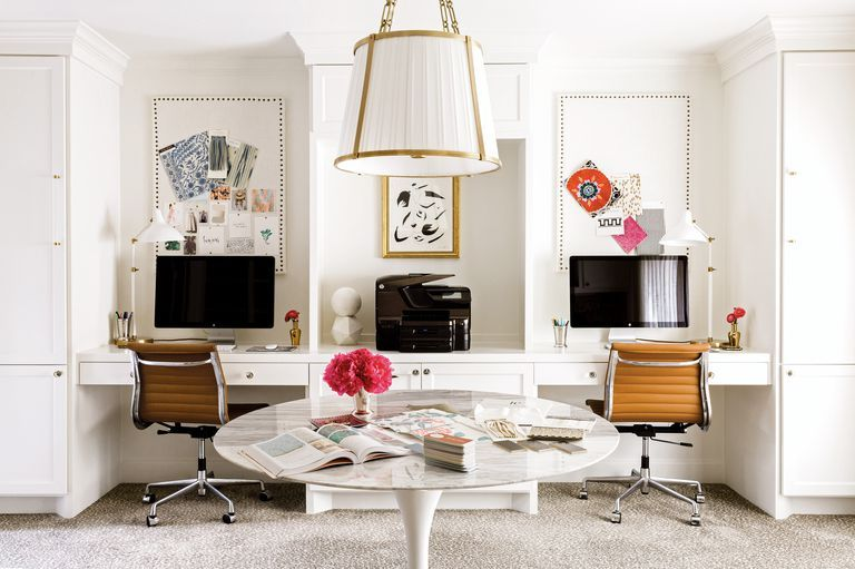 Office Envy See Where Two Top Designers Bring Their Big Ideas To Life In 2020 Home Office Design Home Interior