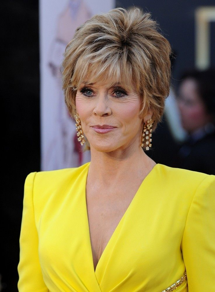 more pics of jane fonda layered razor cut pinterest layered cuts