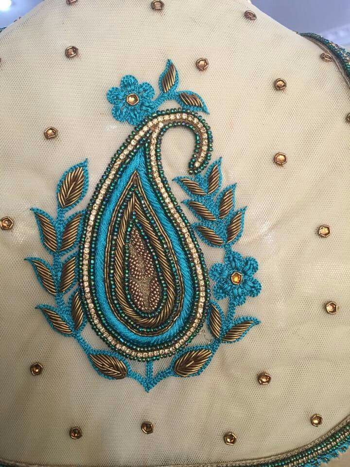 Pin By Sarada Kallam On Maggam Work Pinterest Embroidery Blouse