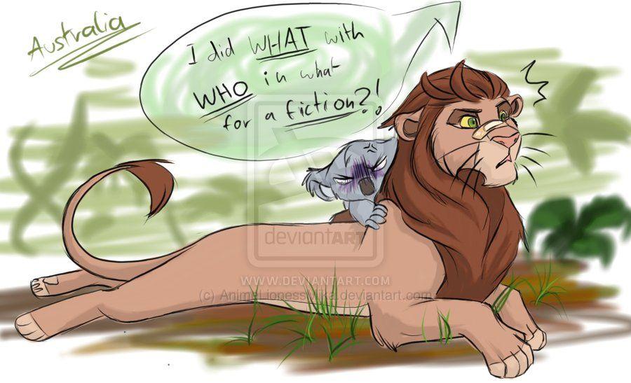 australia-lion by AnimeLionessMika on DeviantArt