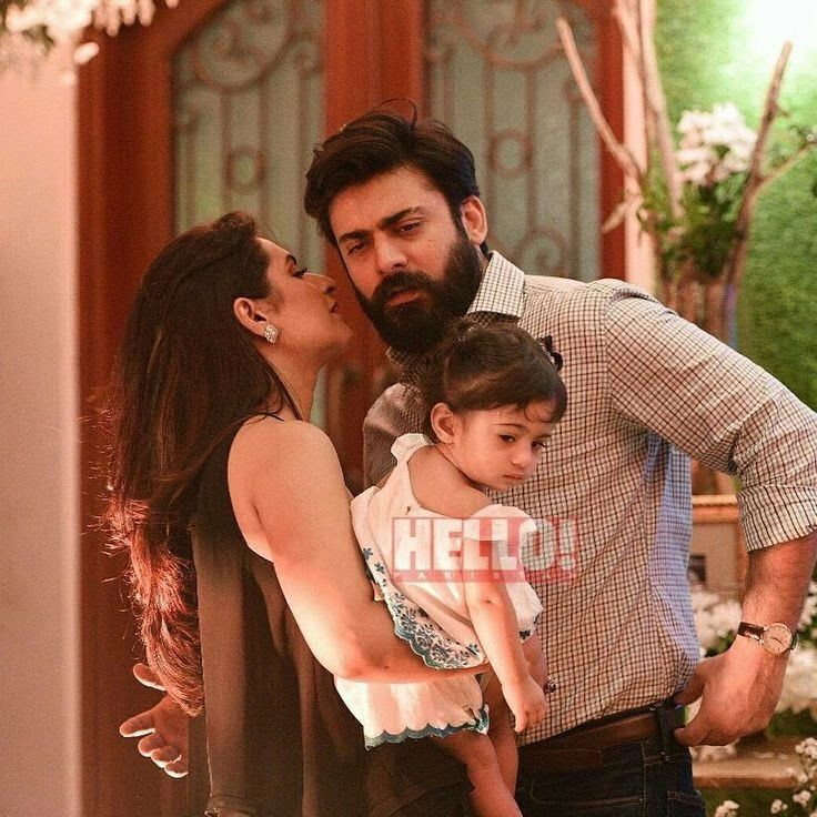 Fawad khan with his family Stylish girls photos