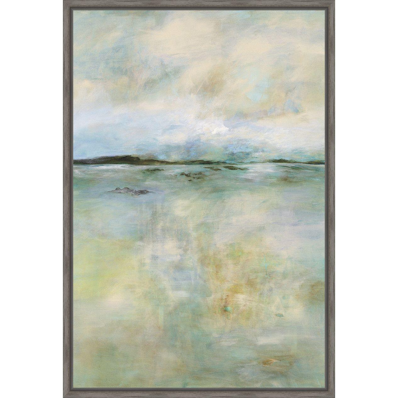Ashton Wall Décor LLC Thoughtful Framed Painting Print | Art | Pinterest