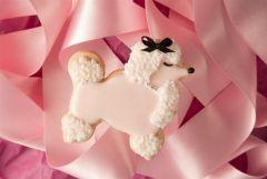 pink poodle cookies