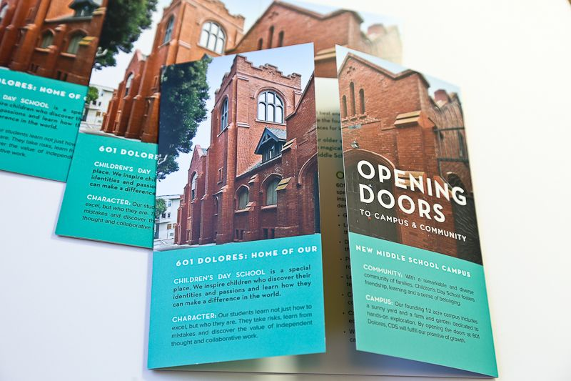 Opening Doors Gatefold Brochure | Brochures - creative folds