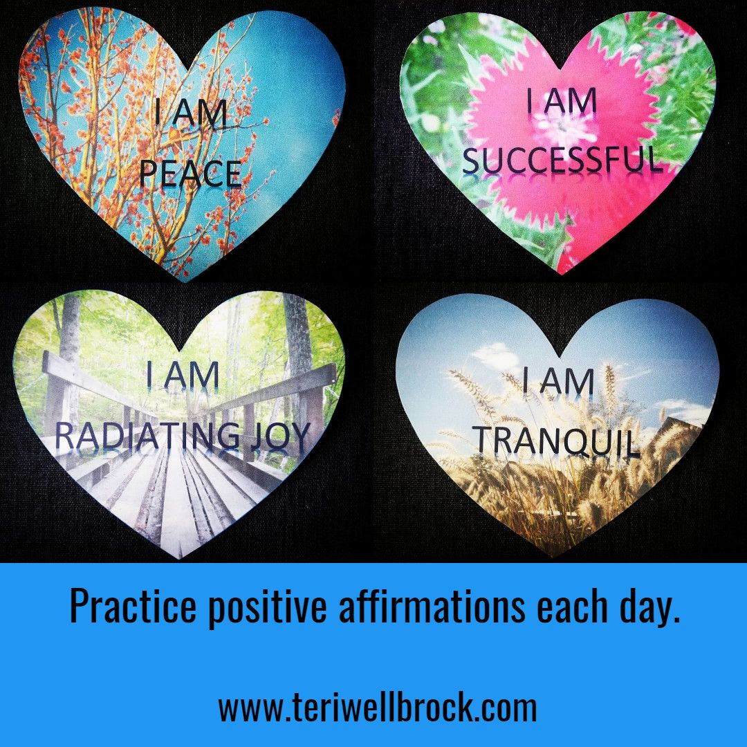 Practice Positive Affirmations Each Day Selfcare Quote